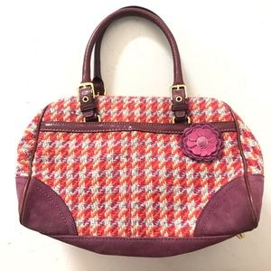 Limited edition coach poppy wool houndstoo…